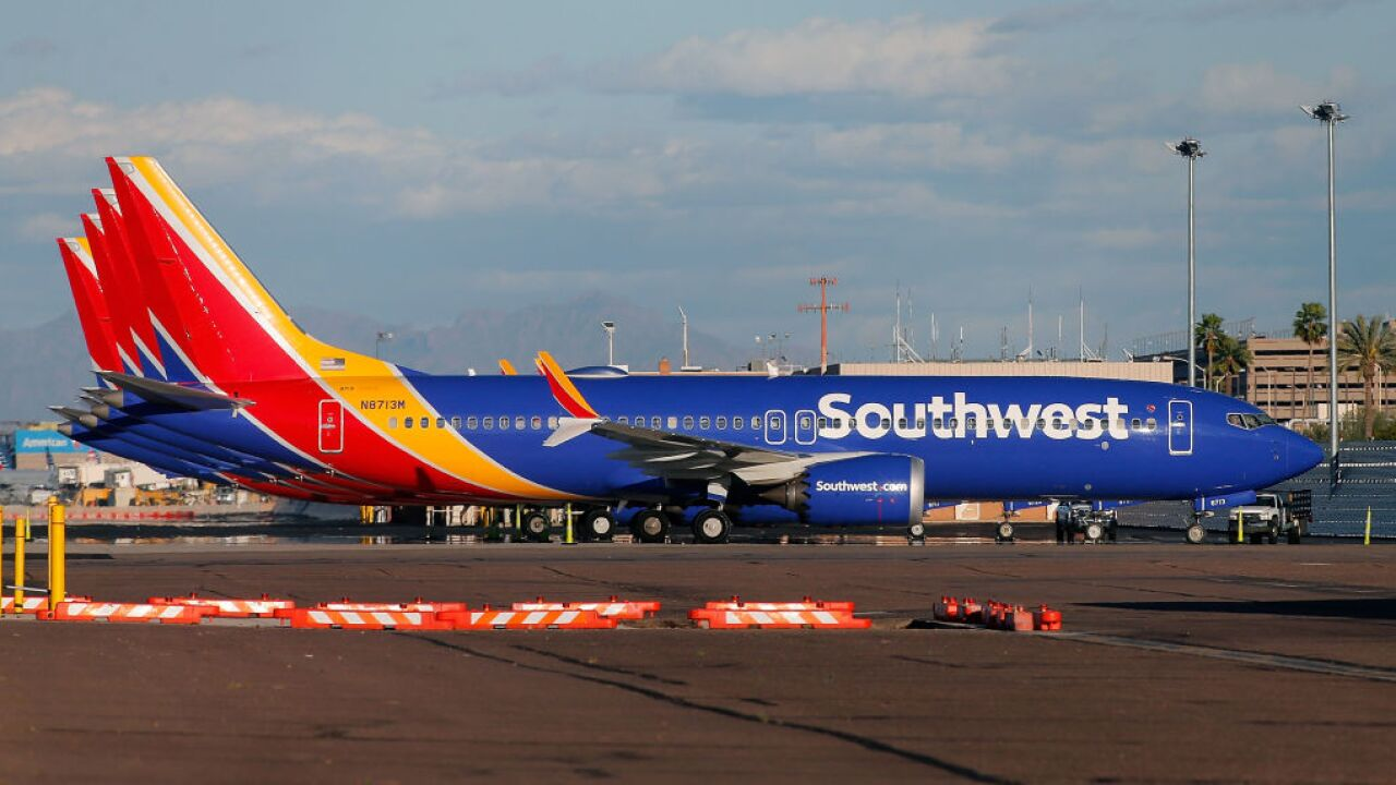 Southwest Airlines says Boeing's 737 Max grounding are hurting sales