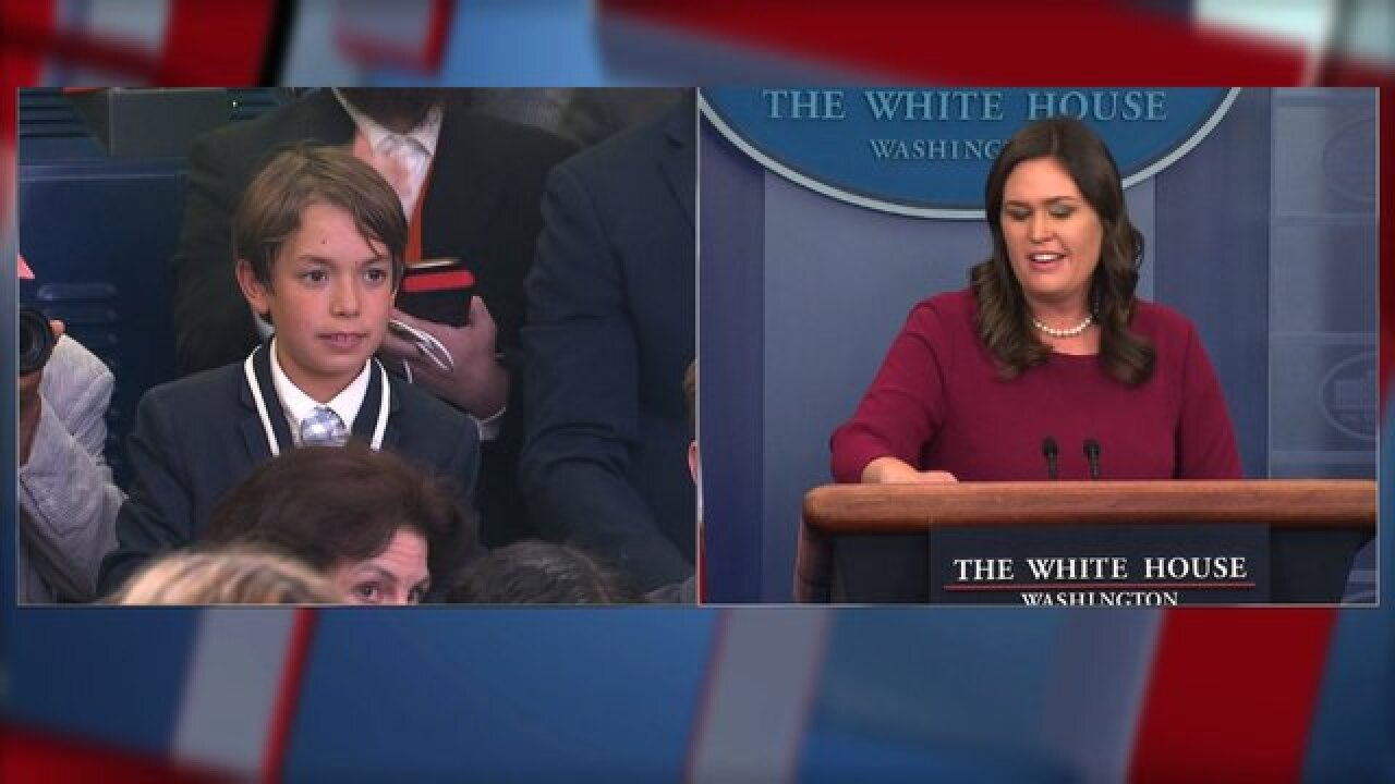 Sanders gets emotional at child's school shooting question