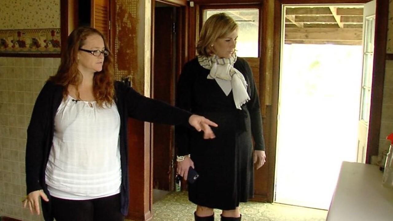 Rosalynn McGinnis' home in Kansas City