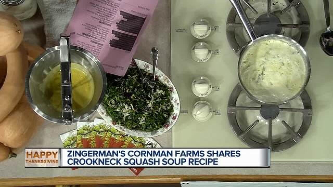 Recipe: Crookneck Squash Soup