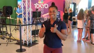 Olympian Jenny Arthur