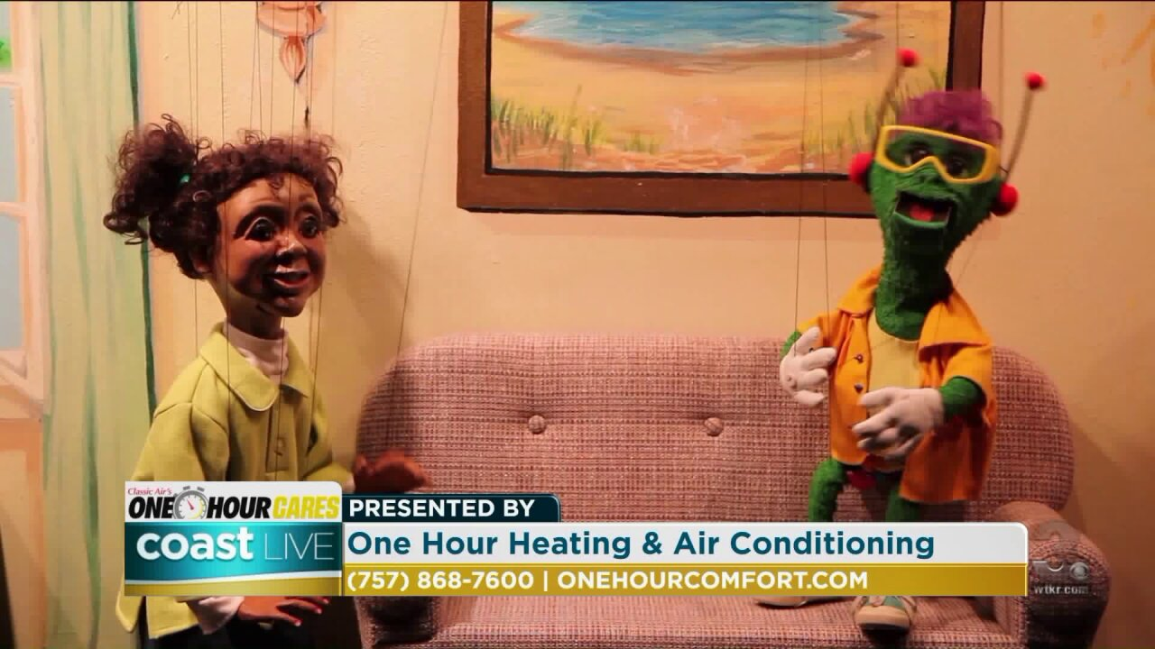 An organization that aims to prevent child abuse using puppets on CoastLive