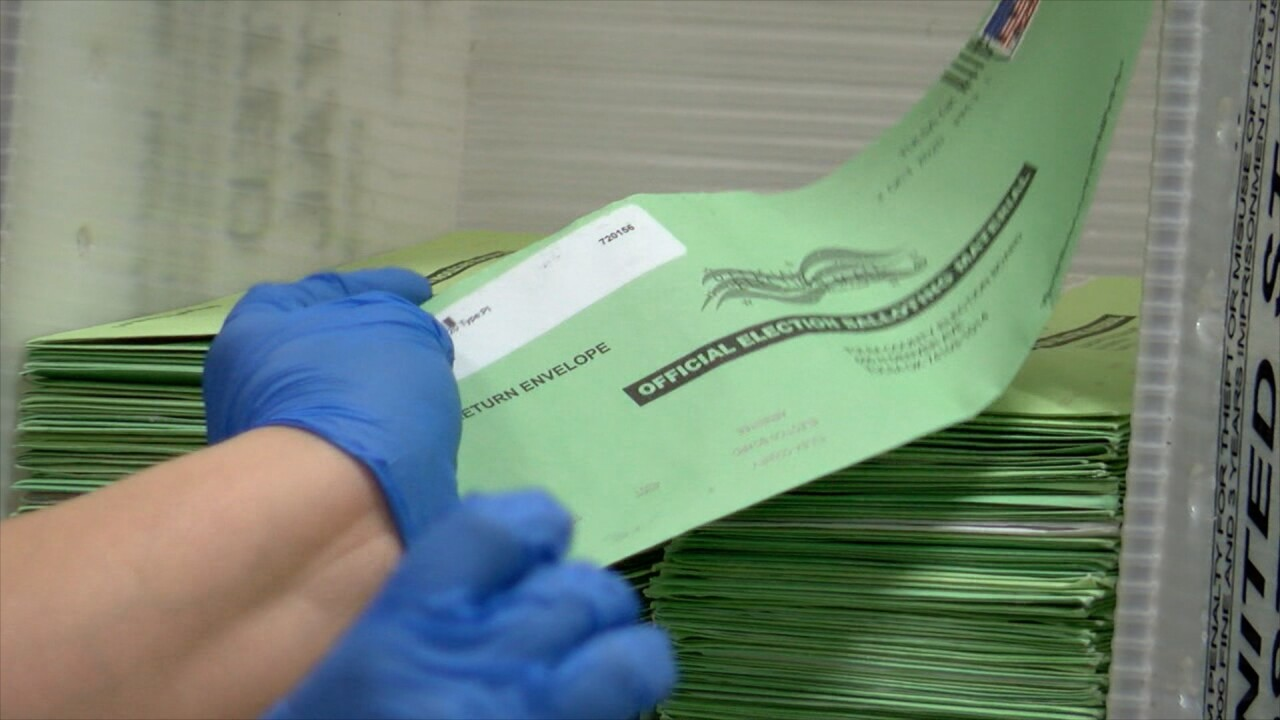 Tulsa County absentee ballots