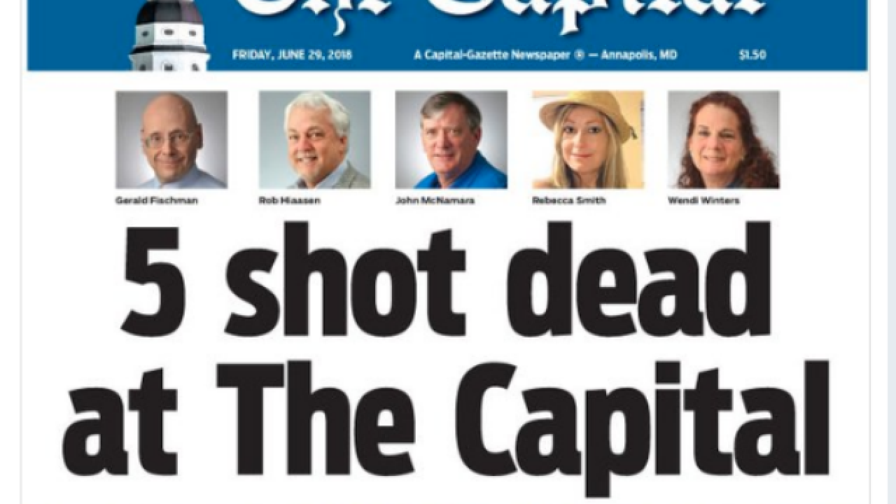 Capital Gazette puts out Friday edition despite mass shooting in newsroom