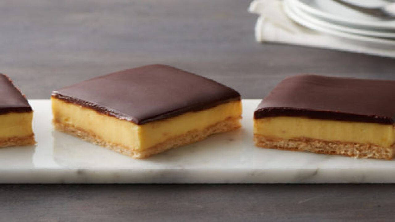 Rich Chocolate éclair Bars Are Easier To Make Than You Think