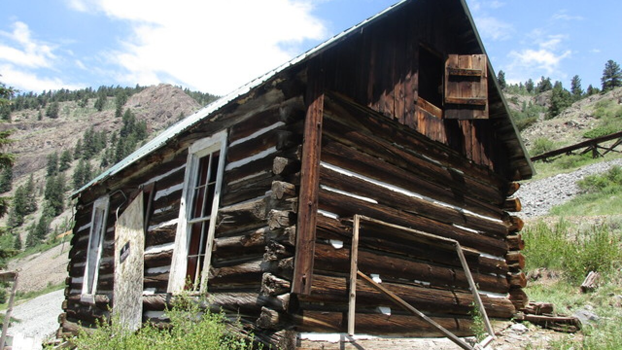 Colorado ghost towns: Ute Ulay complex/townsite