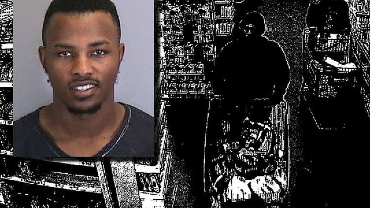 An innocent man was sent to jail because police used a grainy black and white photo as evidence