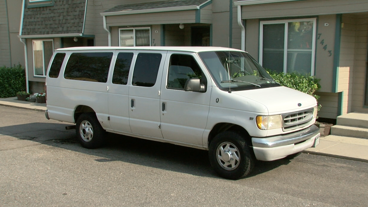 Van from BeyondHomes with new catalytic converter