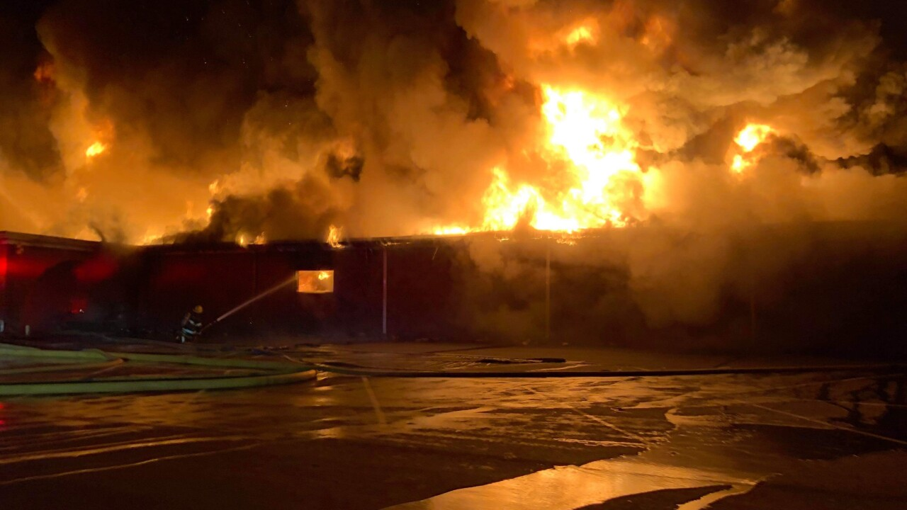 Overnight fire destroys Hopewell MooseLodge