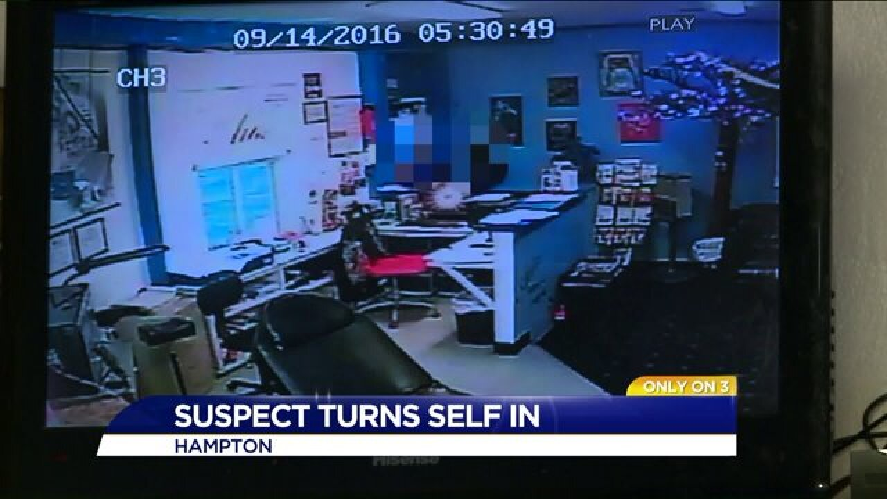 Suspected Hampton tip jar thief returns to store to apologize