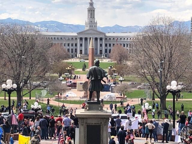 Protest to Re-Open Colorado