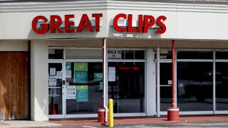 Image: The Great Clips hair salon on South Glenstone Avenue is seen in Springfield