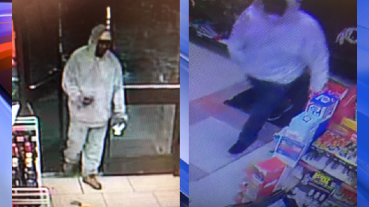 Portsmouth Police investigating 2 early-morning robberies