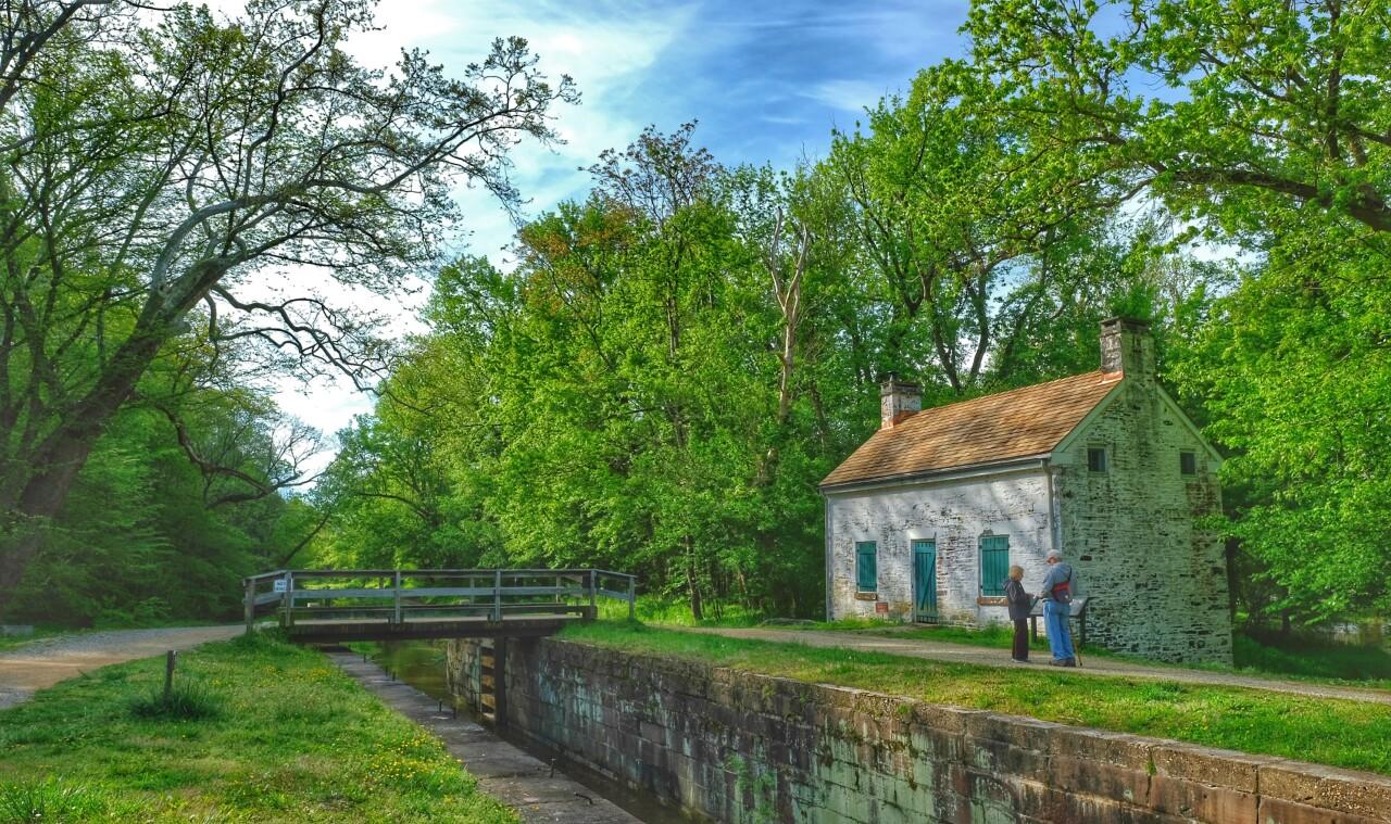 Pennyfield Lock, Travilah, Maryland