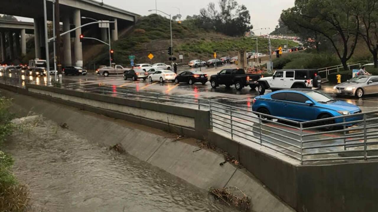 Sorrento Valley Flood