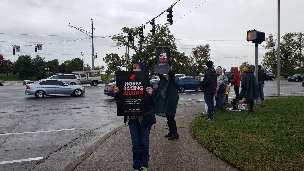 Keeneland protesters.jpg