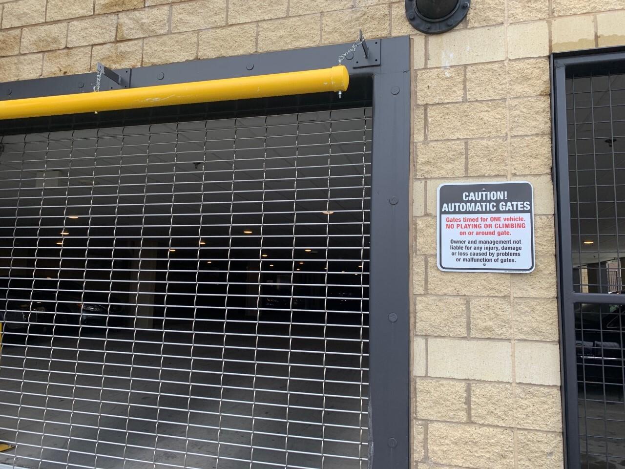 Automated garage gate