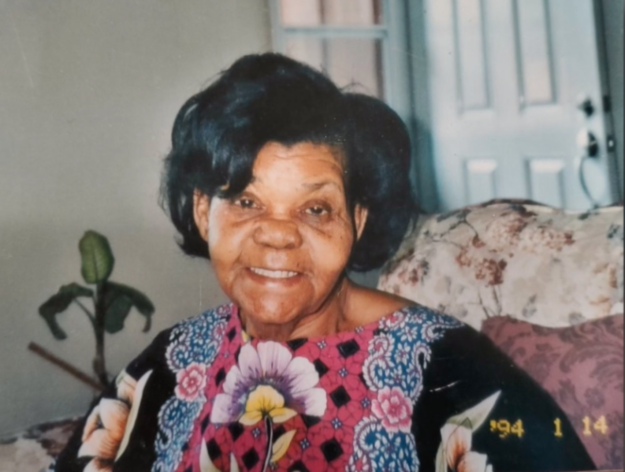 Pastor Jean Coffy's mother