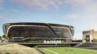 Caesars Entertainment first founding partner of Las Vegas Raiders Stadium