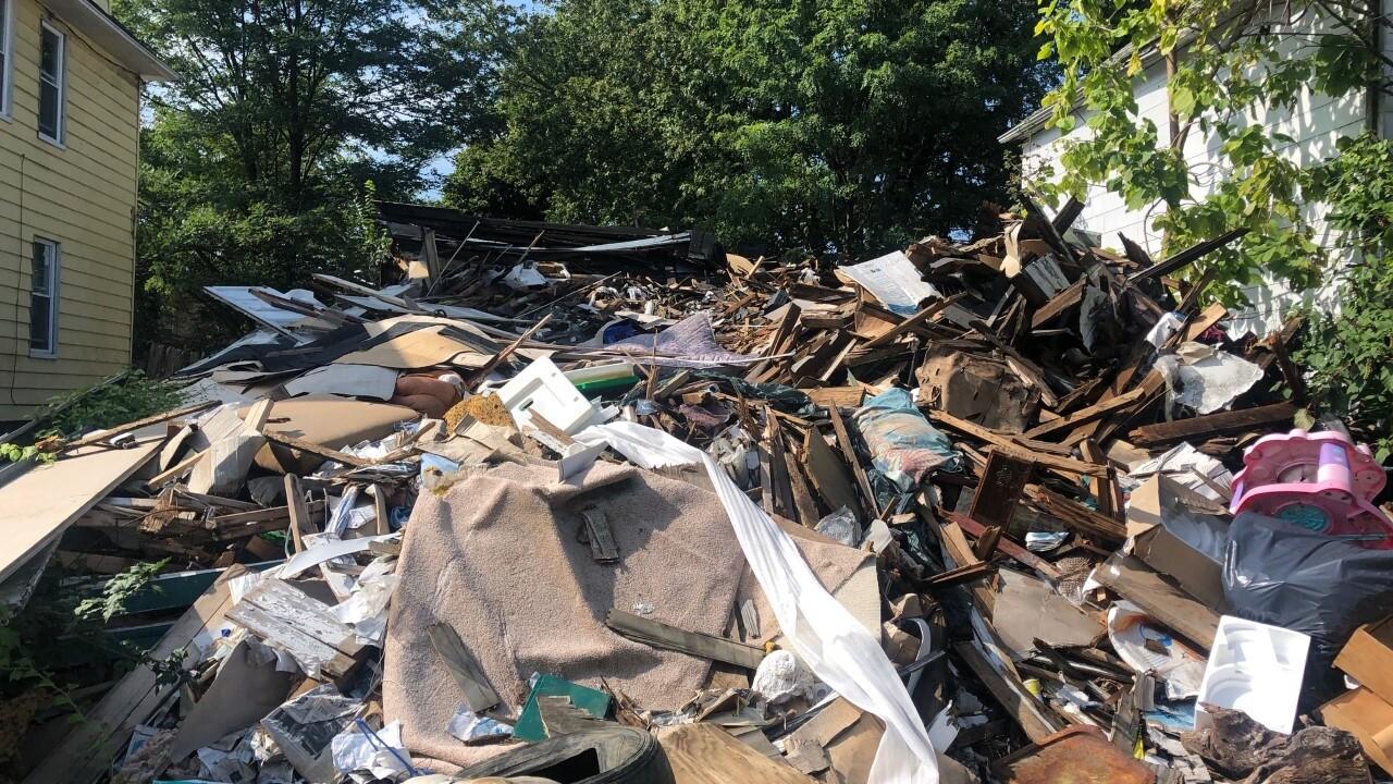 cleveland home demolition 1