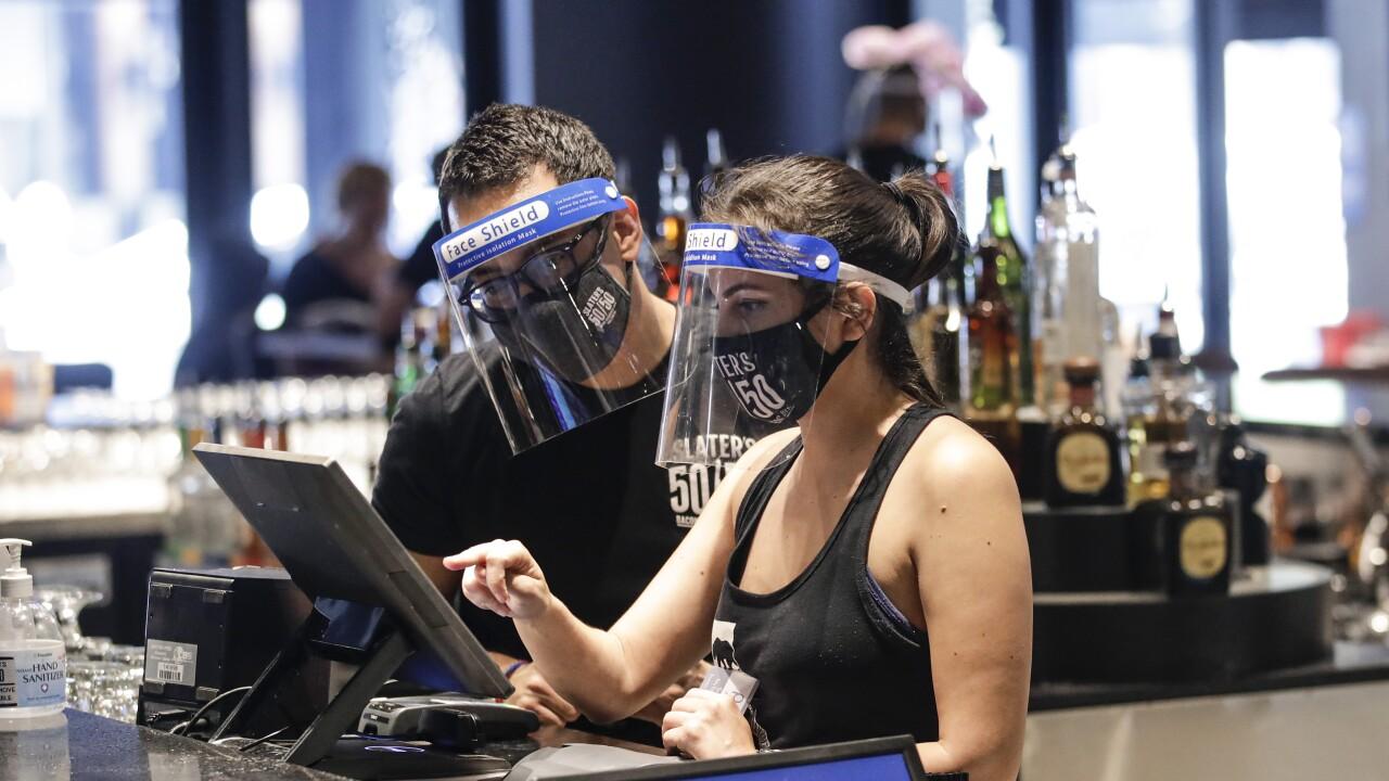 Bars, restaurants pay price for California virus surge