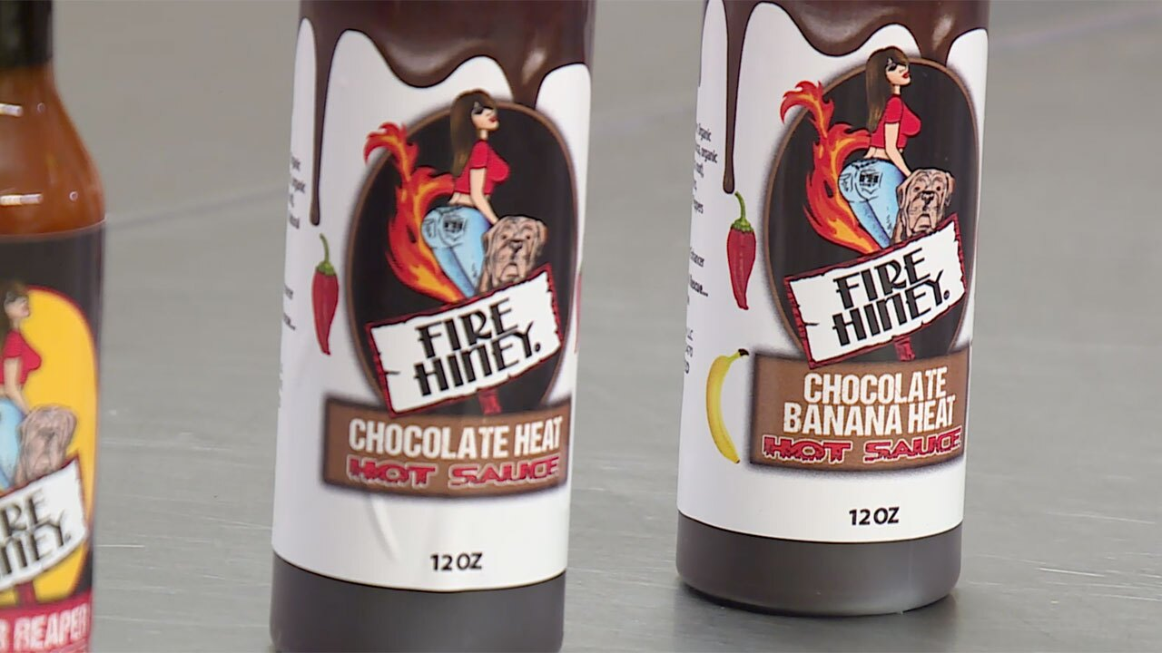 Fire Hiney Chocolate Hot Sauce