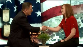 3 Questions with Bob Evans: Jennie Taylor, wife of fallen Maj. BrentTaylor