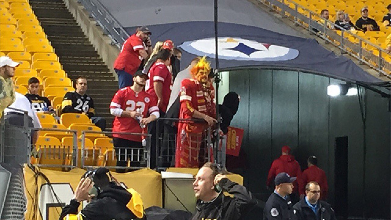PHOTOS: Chiefs take on the Steelers