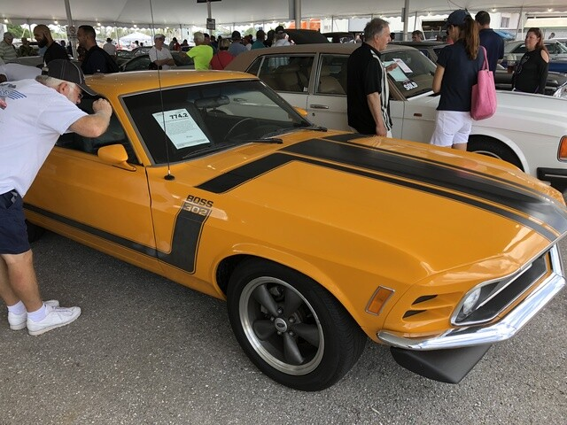 PHOTOS: Barrett-Jackson Car Auction 2018