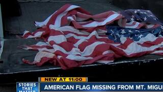 American Flag missing from popular Chula Vista hiking spot