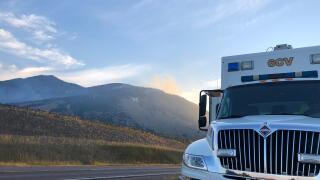 Bridger Foothills Fire jumps to 400 acres overnight