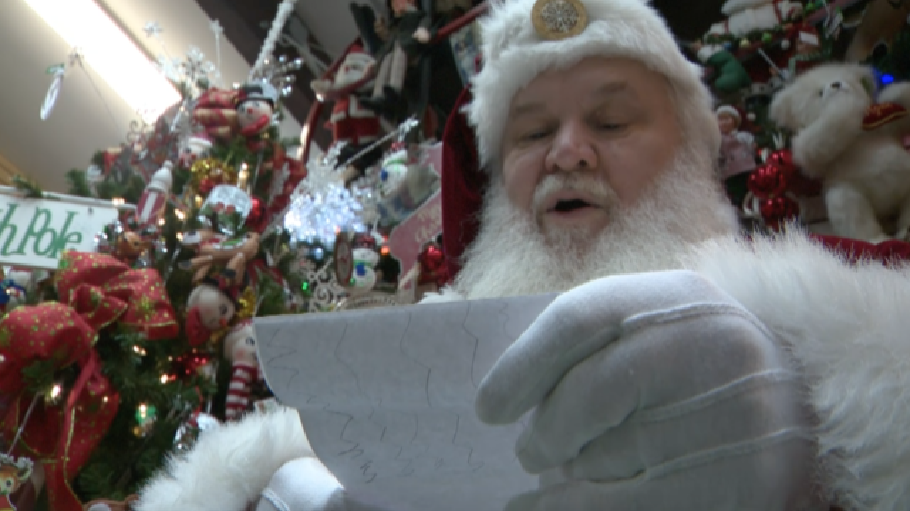 Thousands of letters to Santa flood North Pole post office daily