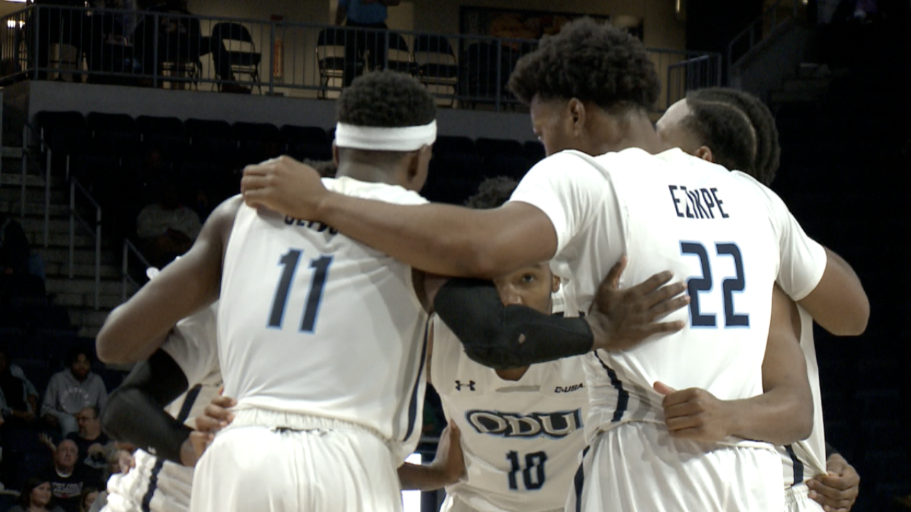 ODU men's basketball suffers one-point loss to Marshall, 68-67