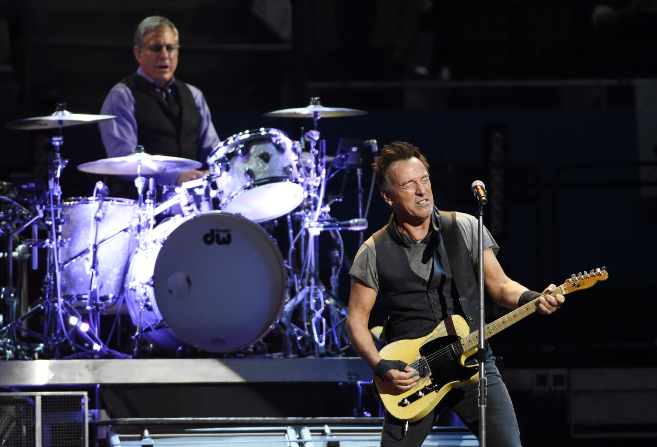 Bruce Springsteen and Max Weinberg