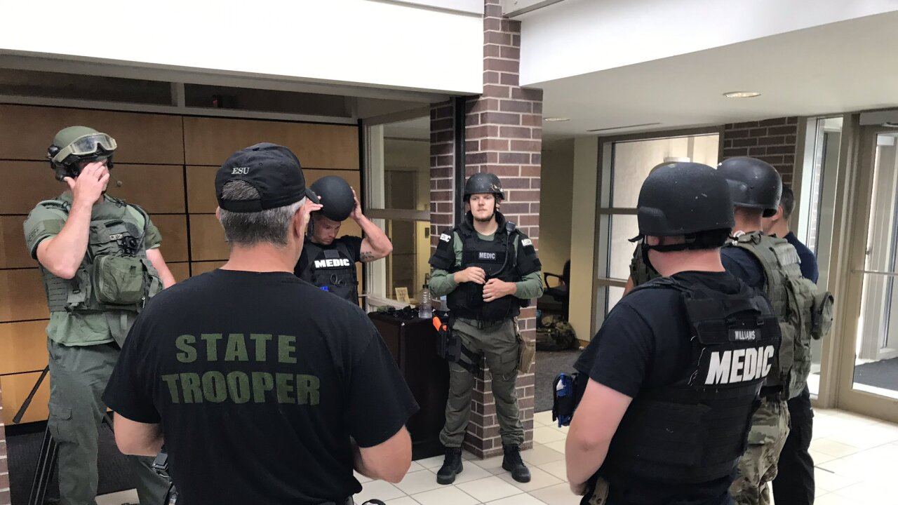 johnson county med act swat training