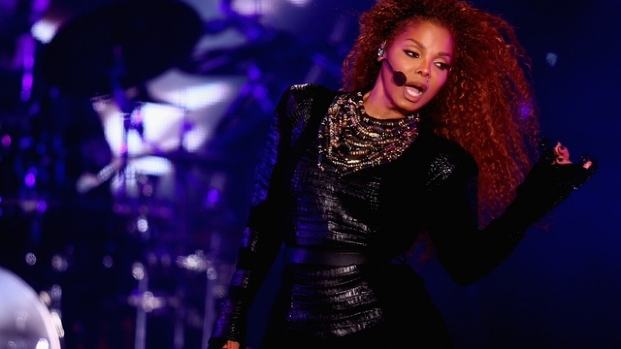 Janet Jackson welcomes a son