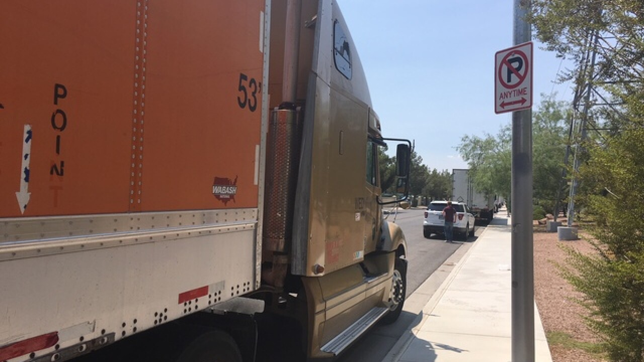 Pop-up truck stop driving residents crazy