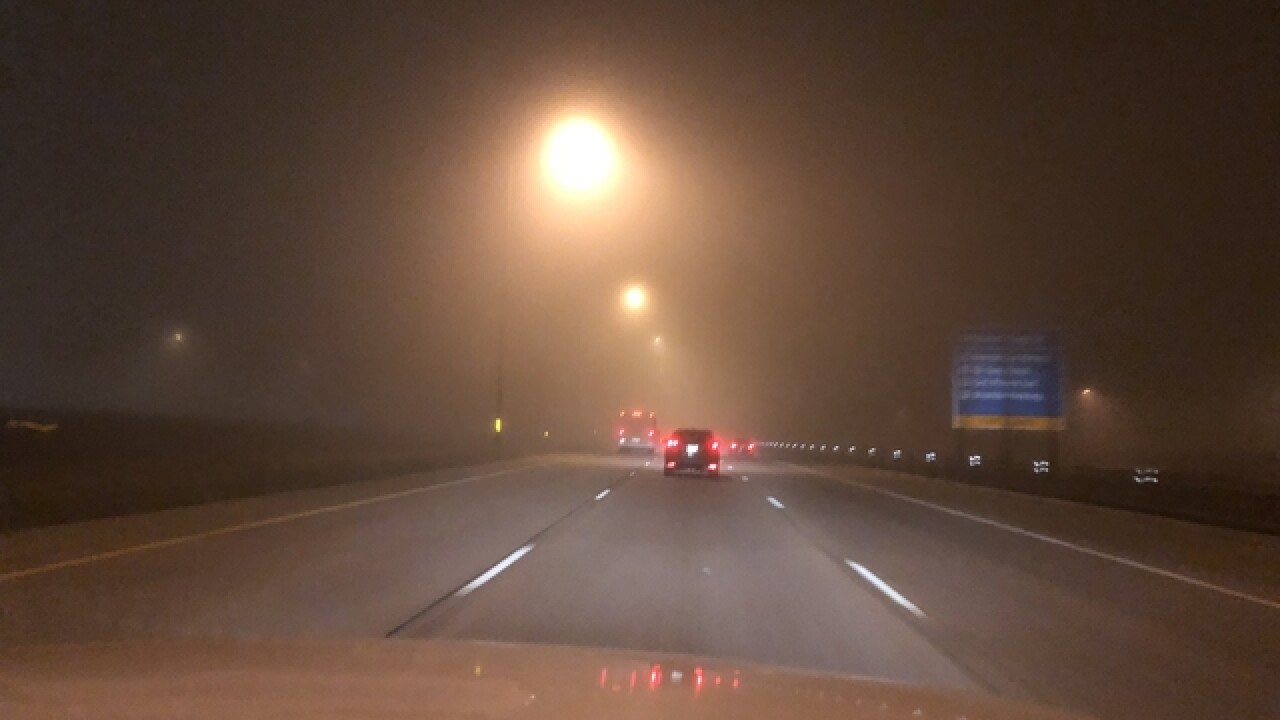 Fog causes travel delays in Denver Metro, FAA issues ground stop for DIA