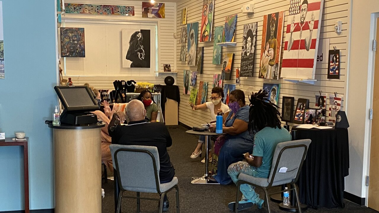 Local artists meet for black lives matter murals