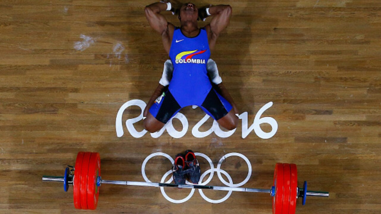 The goofiest photos from the Rio Olympics