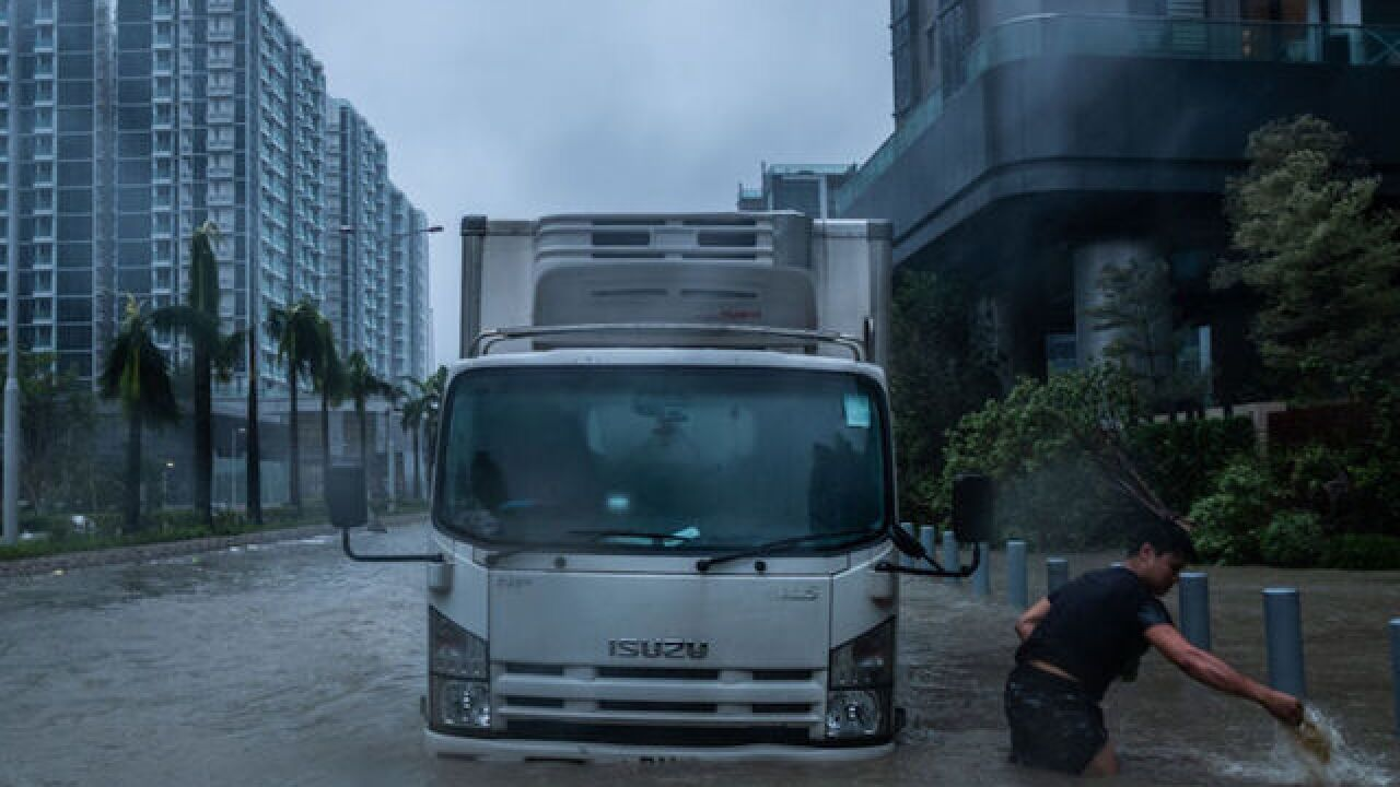 Typhoon Mangkhut: Hong Kong in tatters; China evacuates millions