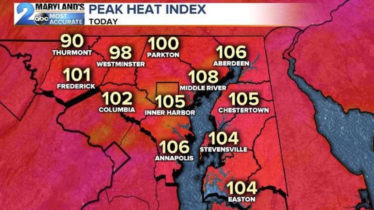 DANGEROUS HEAT: Heat Advisories Again