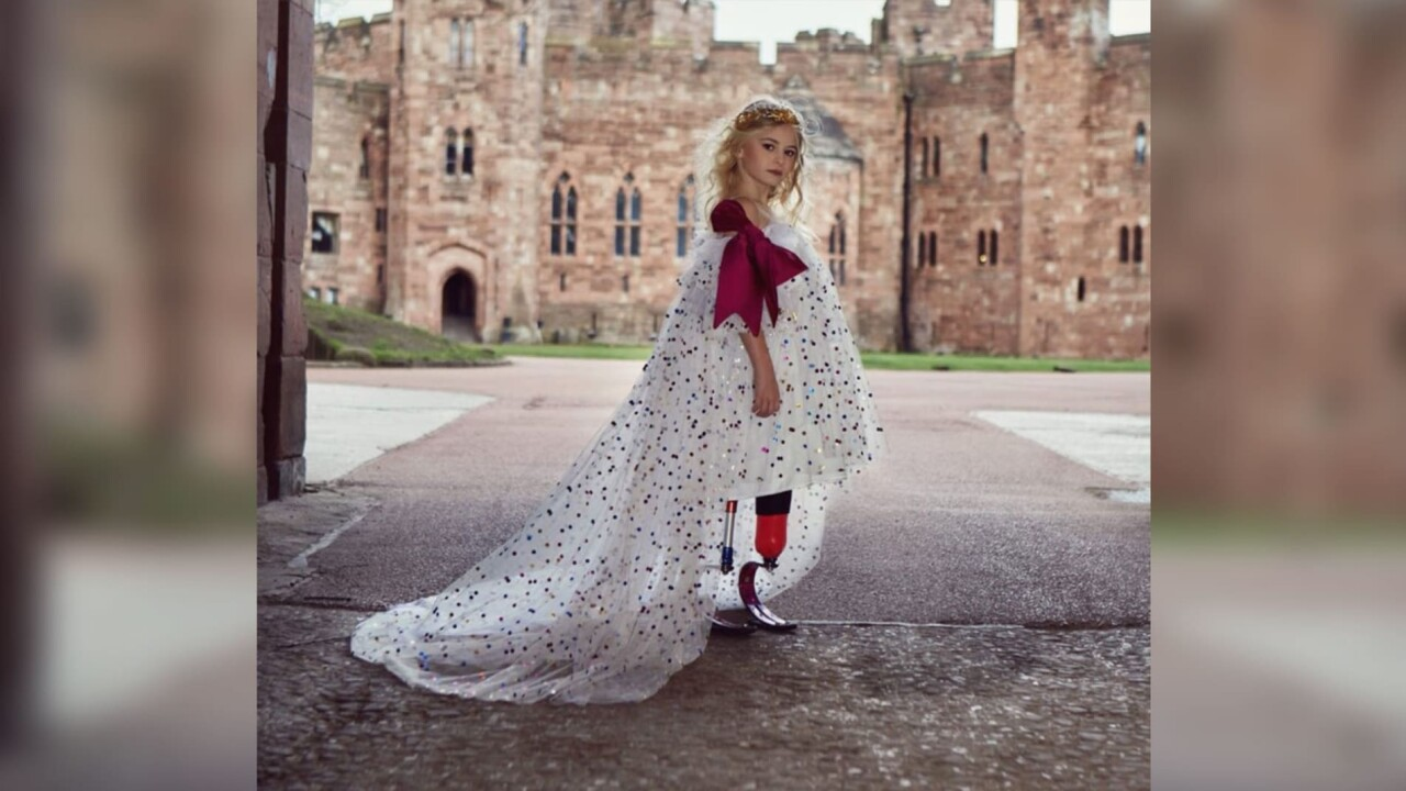 This 9-year-old double amputee will walk the runway at New York Fashion Week