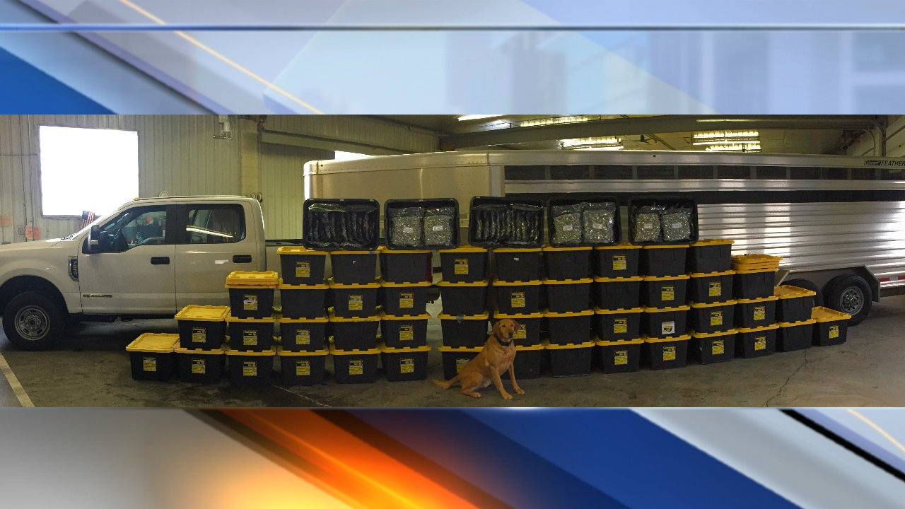 Idaho State Police announce drug bust