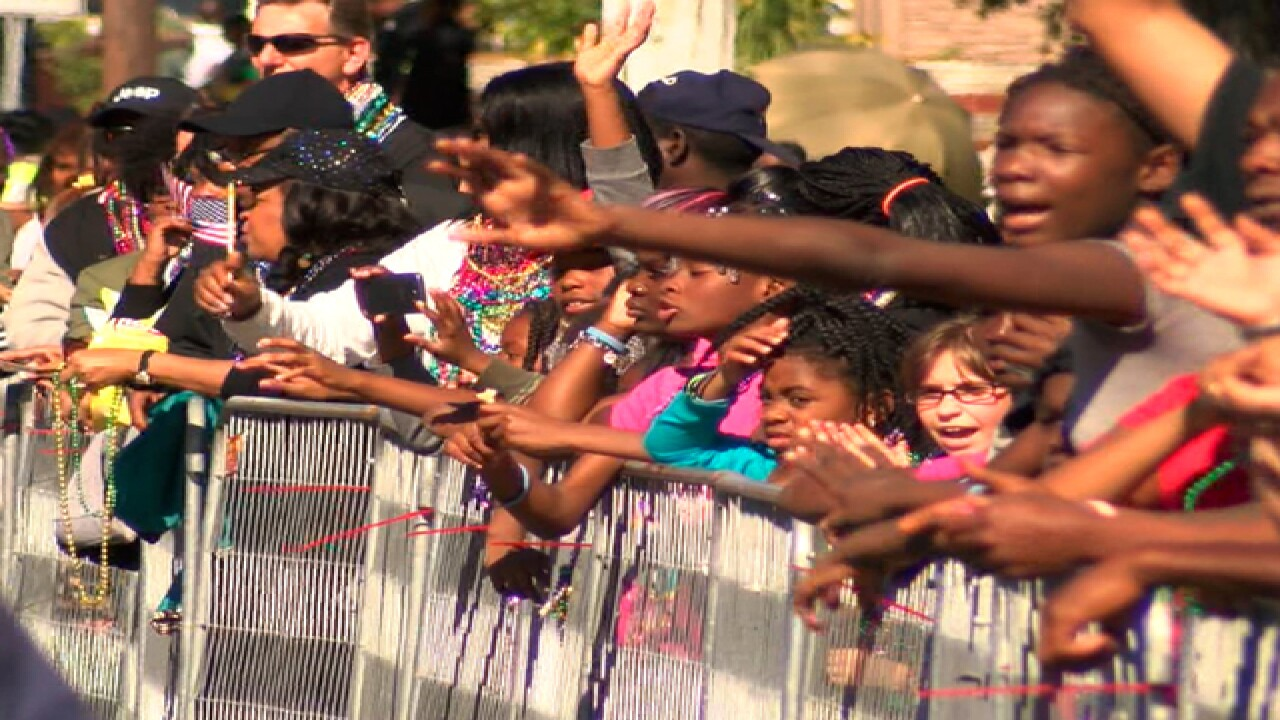 Tampa's 2016 Dr. Martin Luther King Jr. Parade