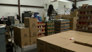 Food Donations at the Community Action Partnership of Kern (CAPK)