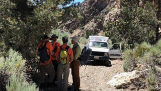 Missing California camper found alive by a rescue team after 4-day search