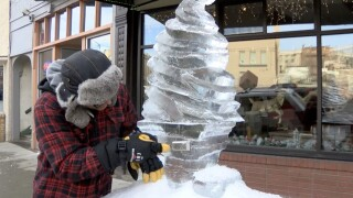 Butte prepares for 19th annual ice sculpting contest this weekend