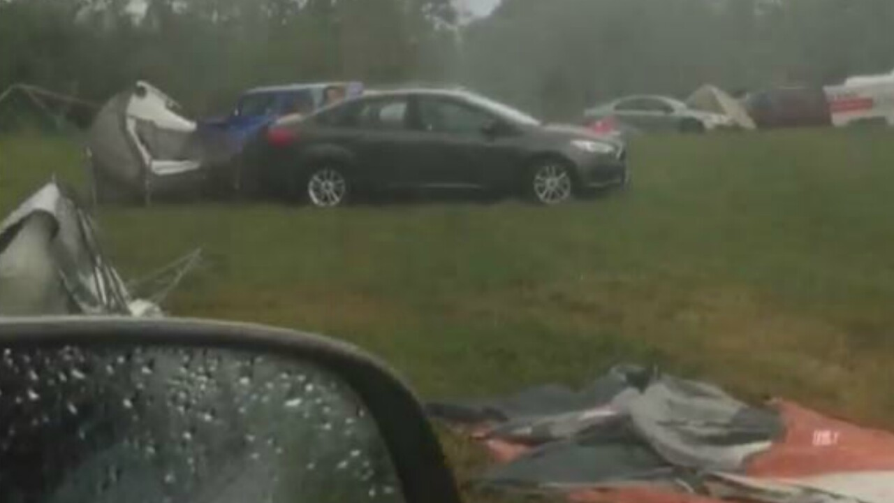 Lockn' Music Festival delayed due to damaging storm; Thursday shows cancelled