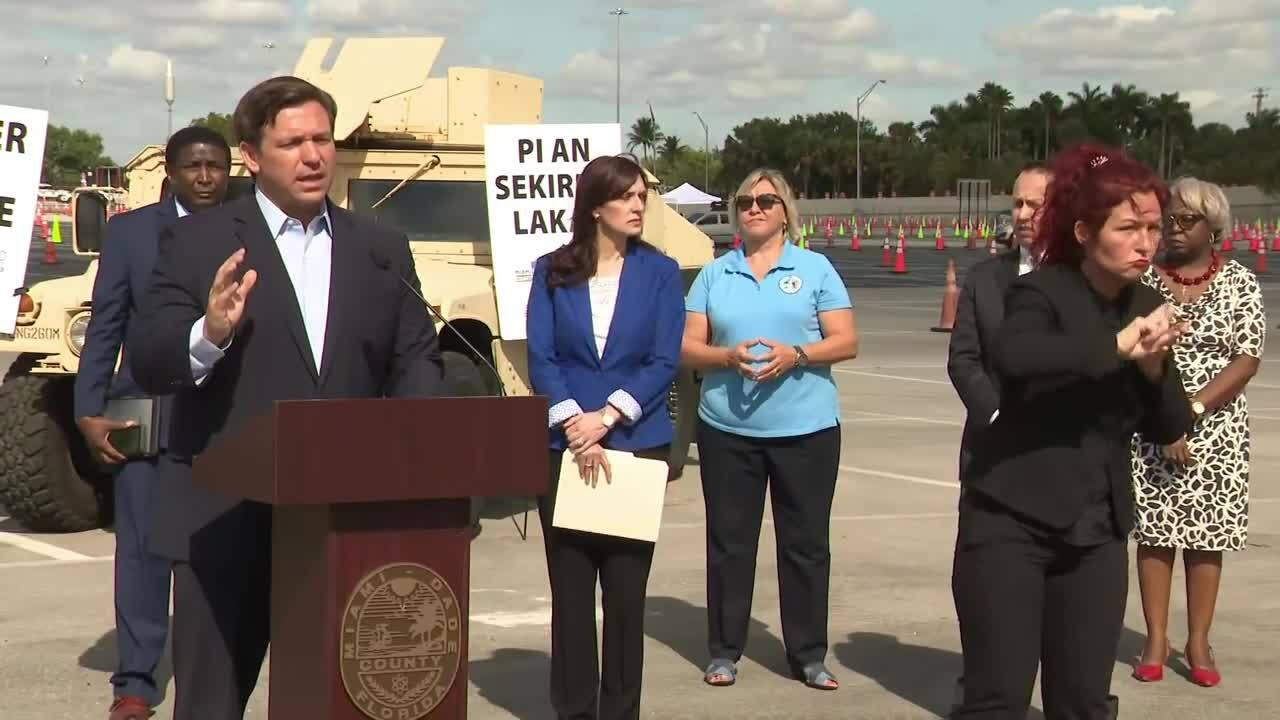 Gov. Ron DeSantis wants medical personnel to greet cruise ship